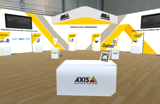 Tour virtual – Câmeras Axis